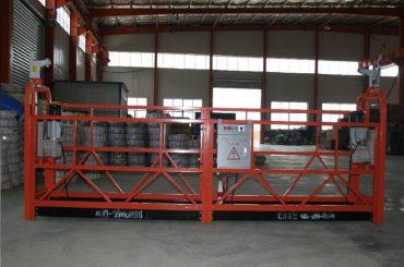 Zlp1000 8 - 10 m / min eraikuntza eta mantentze lanetarako esekitako woking plataforma segurua