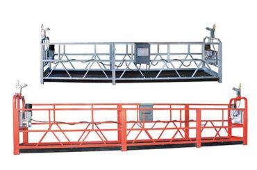 10m-ko altzairu / aluminiozko sarbide-ekipamendua zlp1000 lan egiteko 3 pertsona