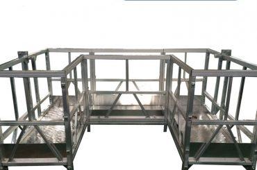 indar handiko zintzilikatutako lan-plataforma zintzilikatua