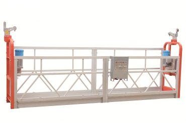 zlp630 altzairu herdoilgaitzezko fatxada garbitu lan plataforma zintzilikatua