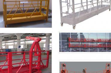 OEM-fabrikatzailea-Suspended-Plataforma-Gondola-Esekia-Fatxa (1)
