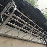 Aluminiozko aleazio zlp630 / 800 ll forma, altzairuzko eraikuntza leihoak eraikitzeko lan plataforma igotzea