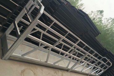 Pila mugikorra - Idatzi elektrikoa kaleratutako sarbide plataformak ZLP800 bakarreko fasea