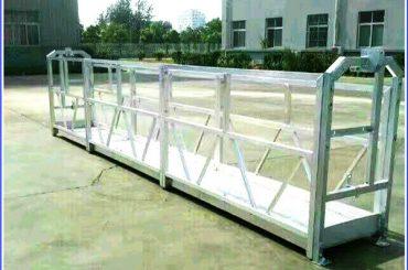altzairu / aluminiozko lan plataformak sal serieko segurtasun blokeoa