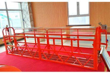 Steel Suspended Access Platforms 7.5m 1.8kw 800kg Eraikuntza Mantentzea