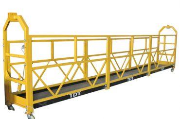 altzairu / galbanizatua beroa / aluminio aleazio soka esekita plataforma 1.5kw 380v 50hz