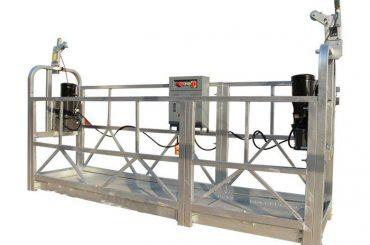 ce / iso-approved zlp eraikuntza elektrikoa / eraikina / kanpoko horma esekita plataforma / cradle / gondola / swing etapa / sky climbe