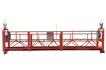 altzairu / galbanizatutako aldi baterako etenezko plataforma beroa, zlp500 mantentze-sehaska