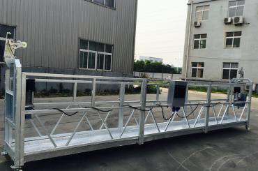 aluminiozko aleazio erregulagarrien soka zintzilikatutako plataforma zlp 800 eraberritzeko / pintatzeko