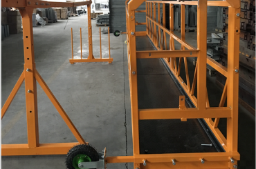 leihoa garbitzeko lanean plataforma segurtasuna zlp 630 hoist ltd6.3