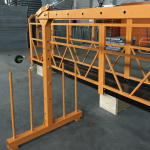 solairuan esekitako alanbre soka plataforma 800 kg 1.8 kw, abiadura altxatzen 8 -10 m / min