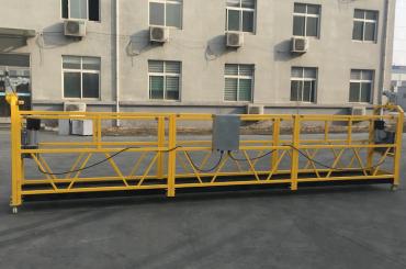 zlp630 ziurtagiria aluminiozko gondola zintzilik elektrikoa eraikitzeko