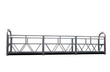 2 x 1,8 kw esekita aldamioa fase bakarreko zintzilikatutako plataforma zutabean zlp800
