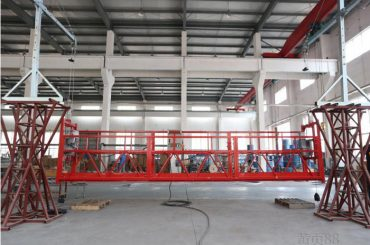 2 * 2.2kb sarbide plataformak zlp1000 igogailu abiadura 8 - 10 m / min