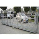Zlp630 soka plataforma zintzilikaria / elektrikoaren aldeko eszenatokia / aldamioa leihoko garbiketa-makina egiteko